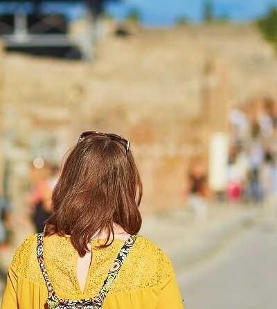 2 jour Pompéi, Sorrente et Capri Tour €355