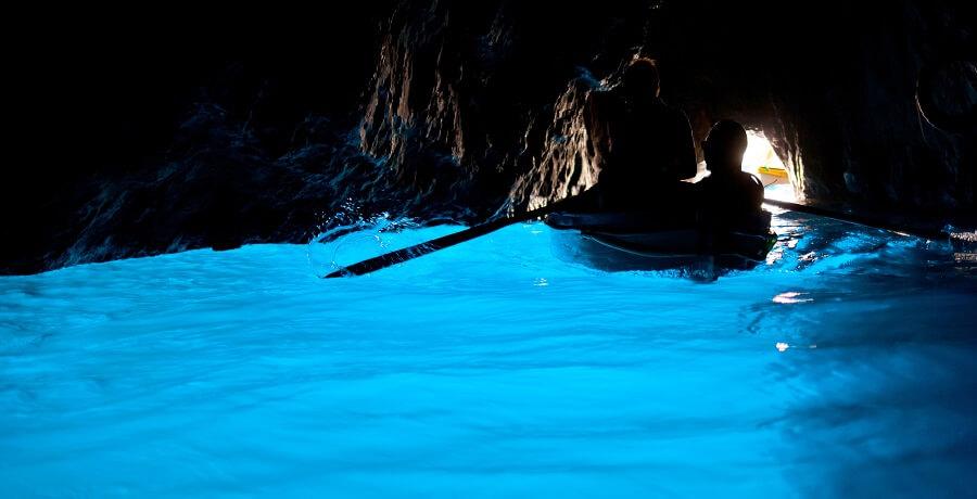 grotte bleue, italie