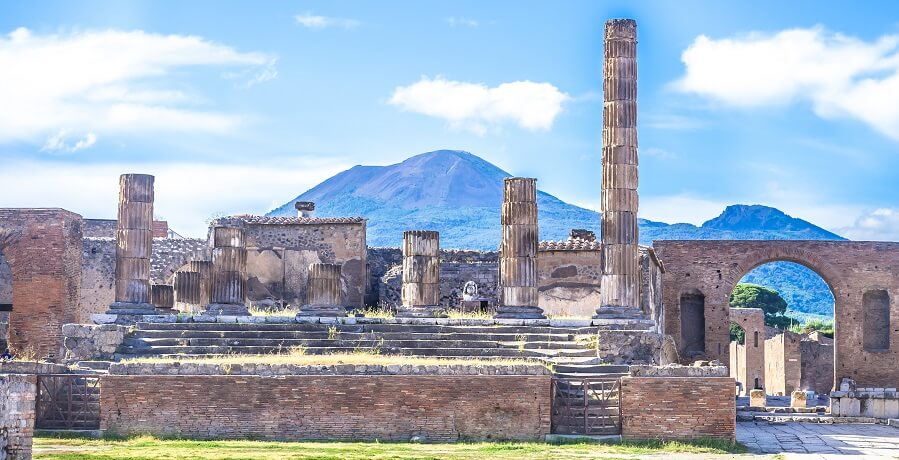 2 Day Amalfi Coast and Pompeii Tour